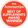 2014 Best of Supplements award winner